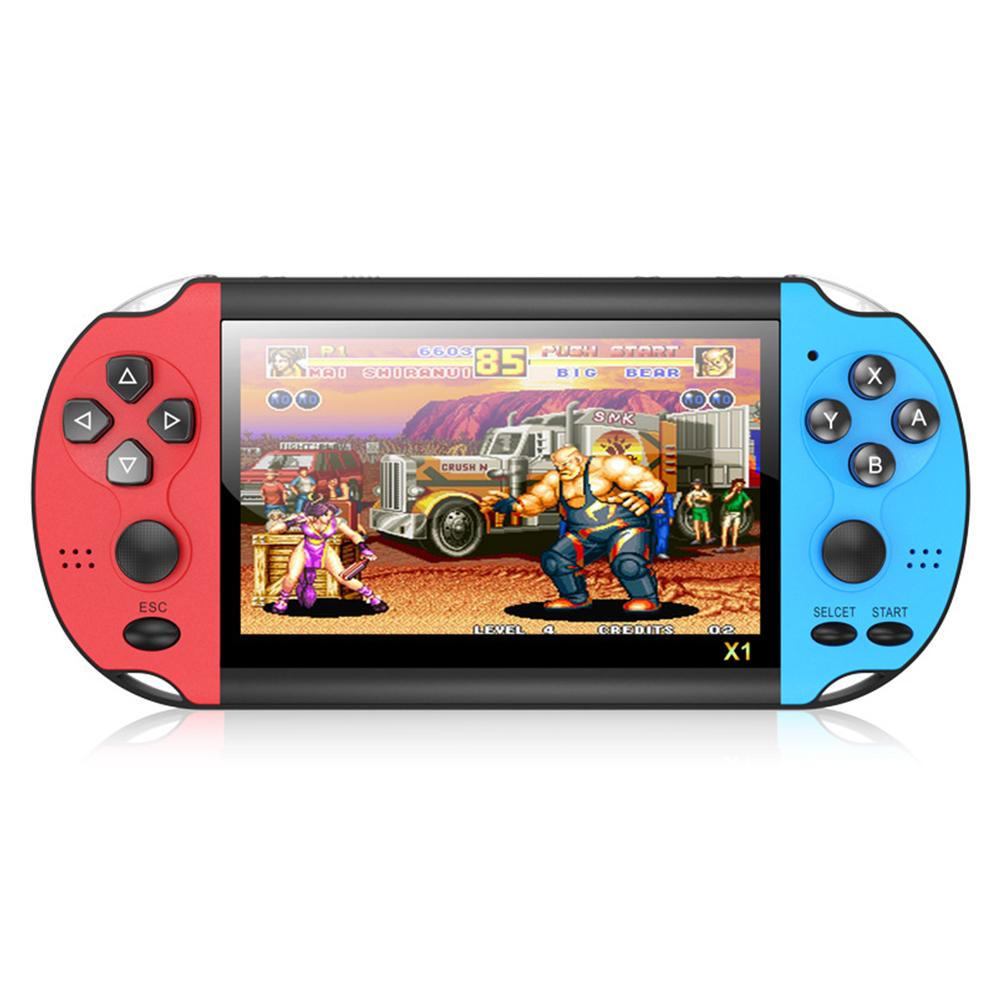 Retro Handheld Game Console 4.3 Inch 8GB HD Portable Classic Video Game Console Built-in 3000 Games Multi-Function Game Console with MP4 Player for Kid Adults Gift