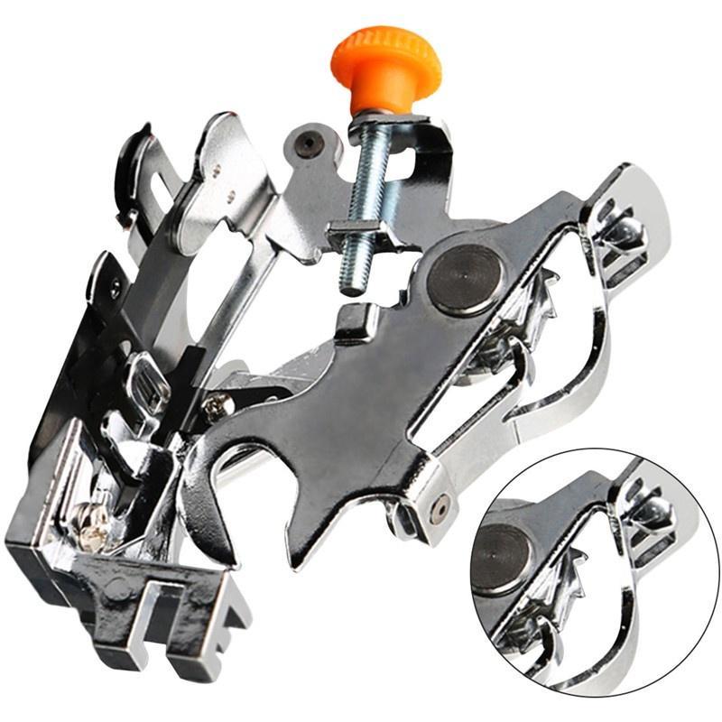 Prensatelas para m/áquina de coser Ruffler para todos los v/ástagos bajos
