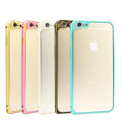 Ultra Thin Metal Aluminum Alloy Bumper Frame Case Cover For iphone 5 5S 6 Plus