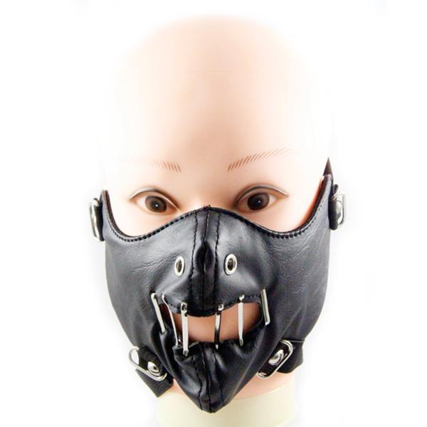 1pc Punk Cool Mouth Mask Personality Masks for Rock Stage Performance Riding Men