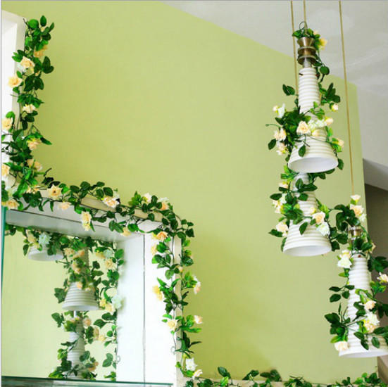 Hochzeit Zubehor Hochzeit Pull Blumen Rattan Hochzeit Zimmer Layout