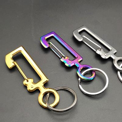 10 x Flag Pole Clip Snaps Hook Keyring Belt Attachment 20mm// 30mm// 40mm// 50mm