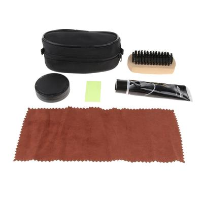 SUPVOX 3Pcs Brosse /à Chaussures Set Chaussure Boot Shine Polish Brush for Shoes Boot Leather