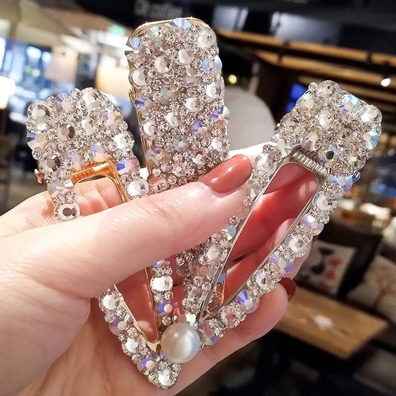 Заколка-зажим с жемчужным сверканием – купить по низким ценам в интернет-магазине Joom