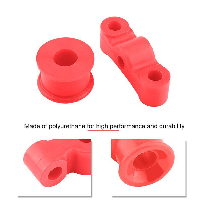 Hood Pins Support Bushing Polyurethane Repair Replace Fix Heavy Duty 1pc