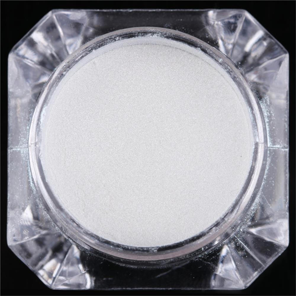 DIY Beauty Pearl Mermaid Diamantpulver Nägel Glitter Weißpigment ...