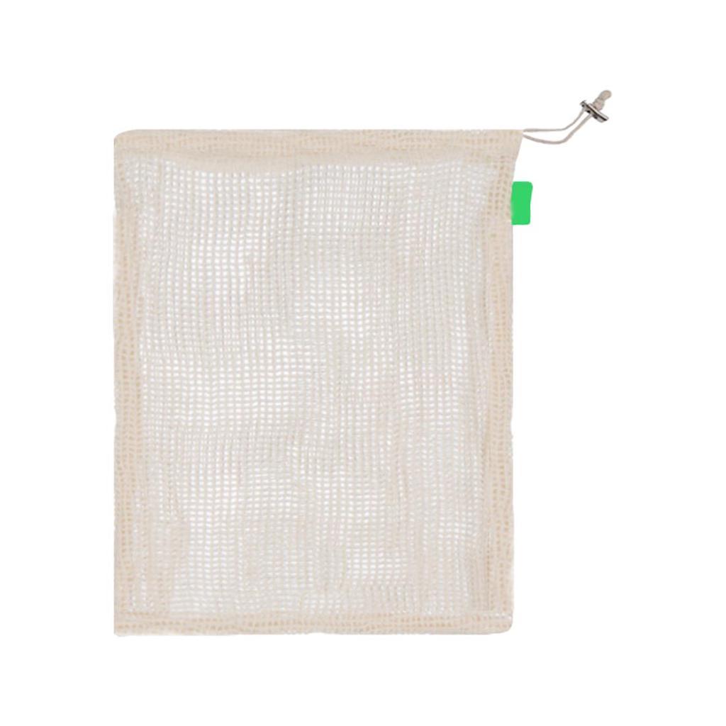 5Pcs Reusable Mesh Laundry Bags Vegetable Fruit Toys Shoe Net Storage Pouch