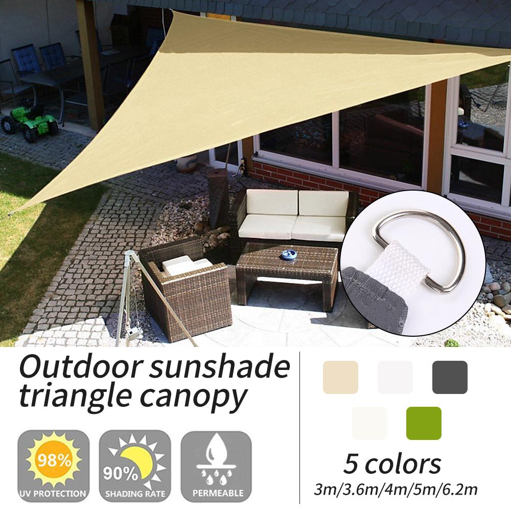 1 Pc Triangle Sun Shade Sail Waterproof Outdoor Garden Camping Tent Courtyard Canopy Patio Cover Buy At A Low Prices On Joom E Commerce Platform