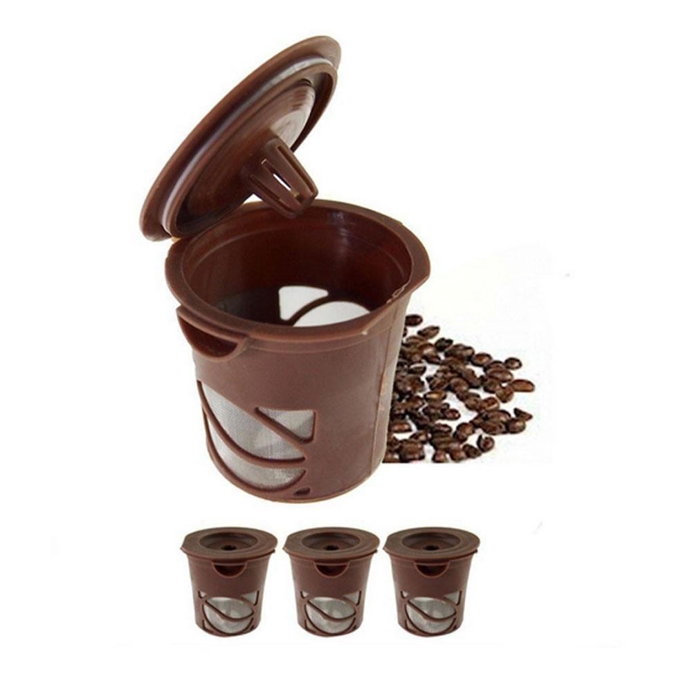 Wiederverwendbarer Kaffee Filter 4pcs k Cup Kapsel Hülse für Keurig
