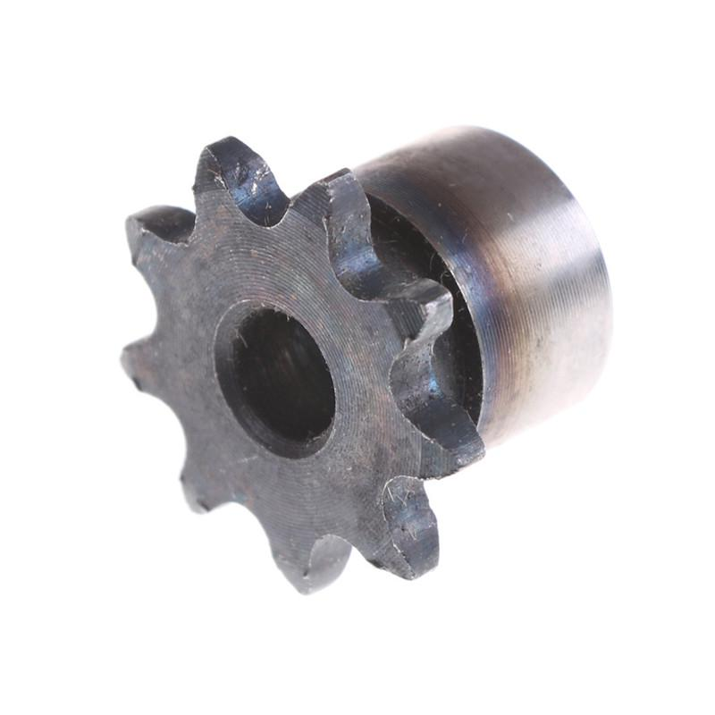 Bore:5mm #25 Chain Drive Sprocket 1//4 9Tooth Bore 5mm Pitch 6.35mm For #25 04C Chain