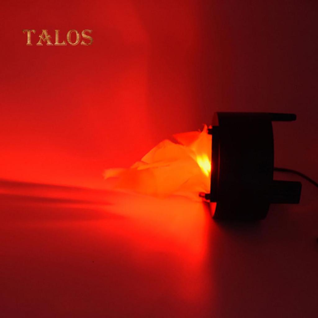 7c6af469ea2 Fuego llama lámpara antorcha luz Halloween barra de LED falso fogata ...