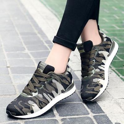 Efficient Novelty Leisure Womens Platform Vulcanize Shoes Med Spring Autumm Lace-up Designer Sneakers Casual Sewing Thick Soled Shoes Women's Vulcanize Shoes