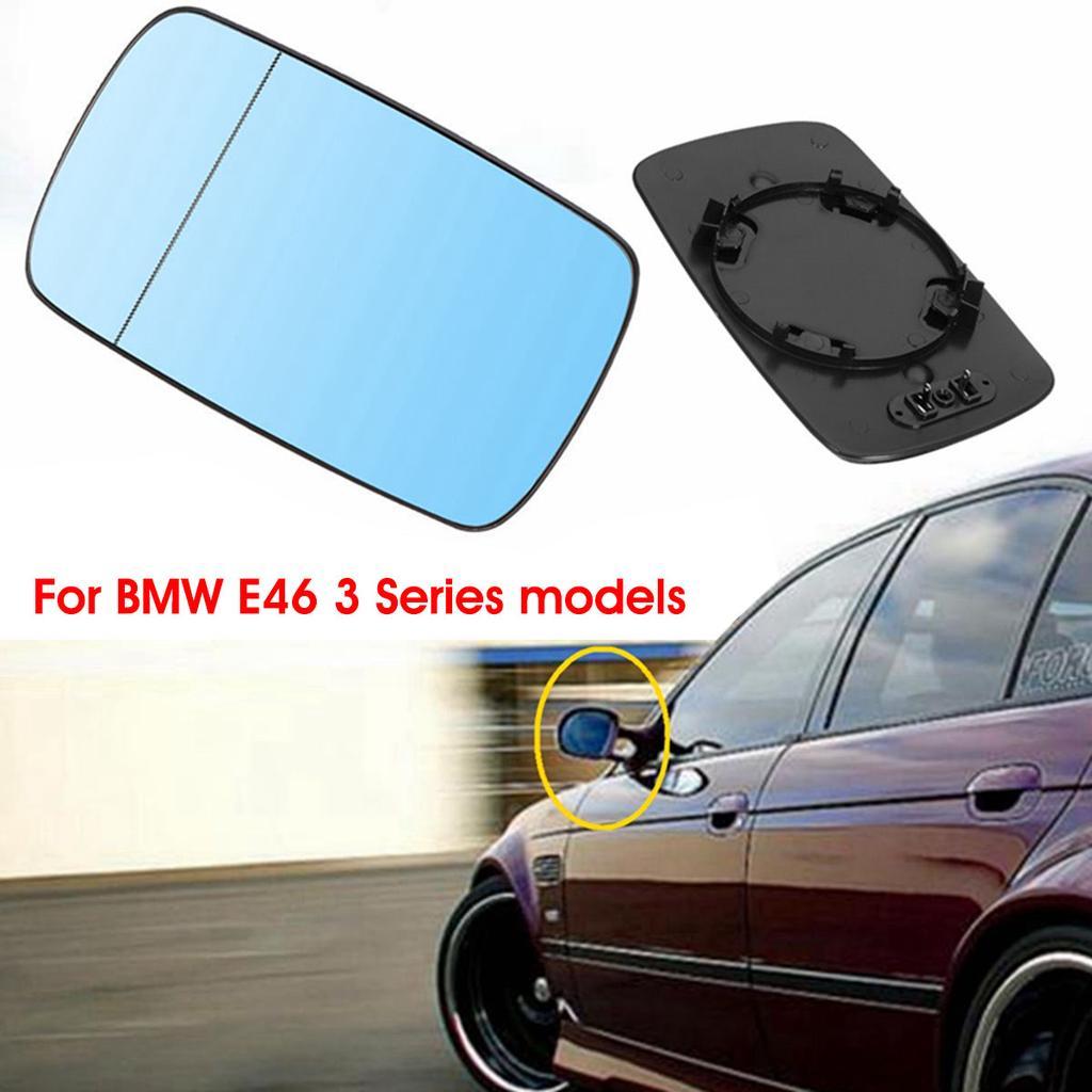 BMW E46 3 SERIES 1998-2005 COMPACT DOOR WING MIRROR GLASS
