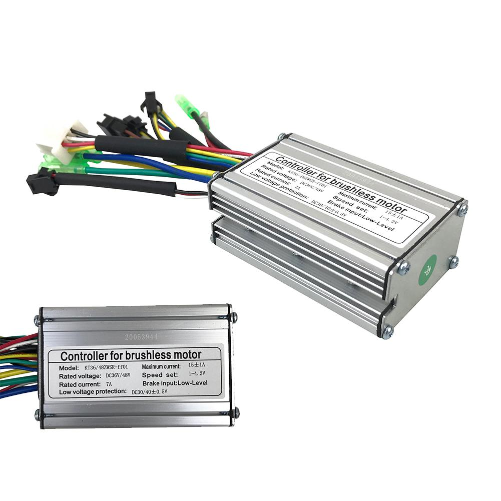 1*Controller E-Bicycle Part 48V-64V Electric 2000W Dual-Mode BLDCM Brushless