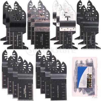 20Pcs Oscillating Multi Tool Saw Blades 32mm For Fein Multimaster Dewalt Bosch