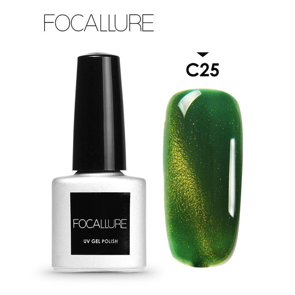 Focallure 7ML mujeres gato ojo UV esmalte de uñas de Gel del LED ...
