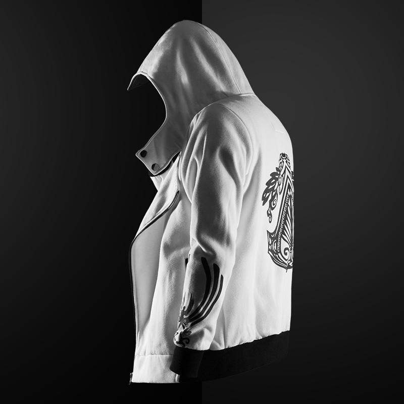 Assassin's Creed Hoodie Sweater Men Hooded Zipper Jacket Men's Hooded Jacket