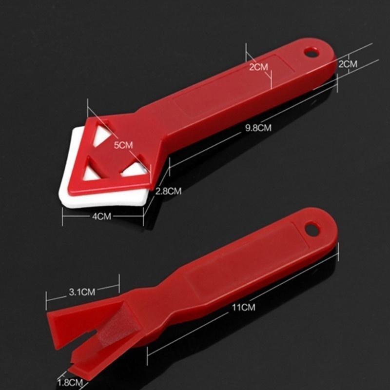 Výsledok vyhľadávania obrázkov pre dopyt New Caulk Away Remover & Finisher Made by Builders Tools Rubber Shovel Angle Scraper Remove Caulking Tool