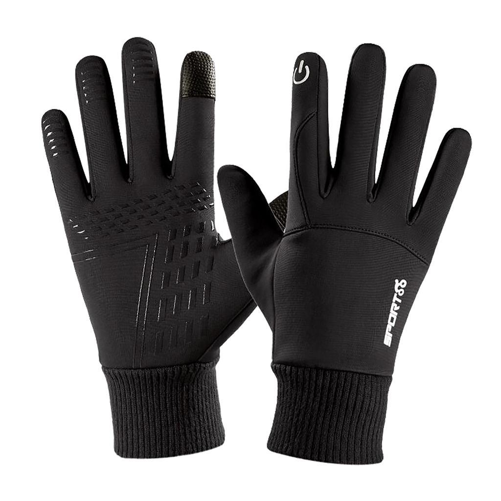 Details about  /Thermal Windproof Fleece Lined Winter Gloves Touch Screen Warm Mittens Men Women