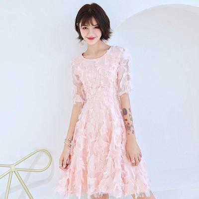 2fe70cdb62a XS-2XL сексуальные маленькие розовые платья женской моде короткие Тонкий вечерние  платья партия Пром