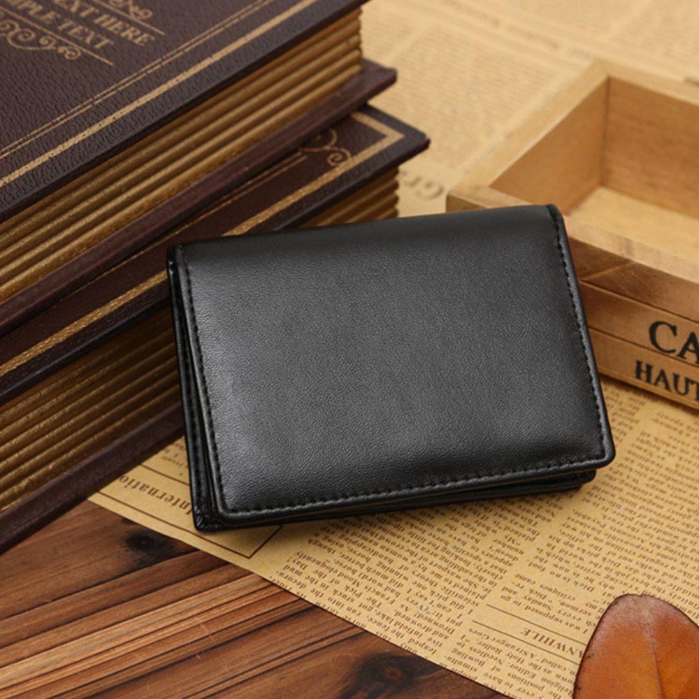 Men/'s Quality GENUINE leather Wallet//purse Credit Card Holder Bifold