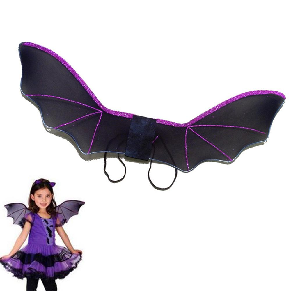 Bat Wings Black Masquerade Dark Angel Costume Adult Halloween Costume Accessory
