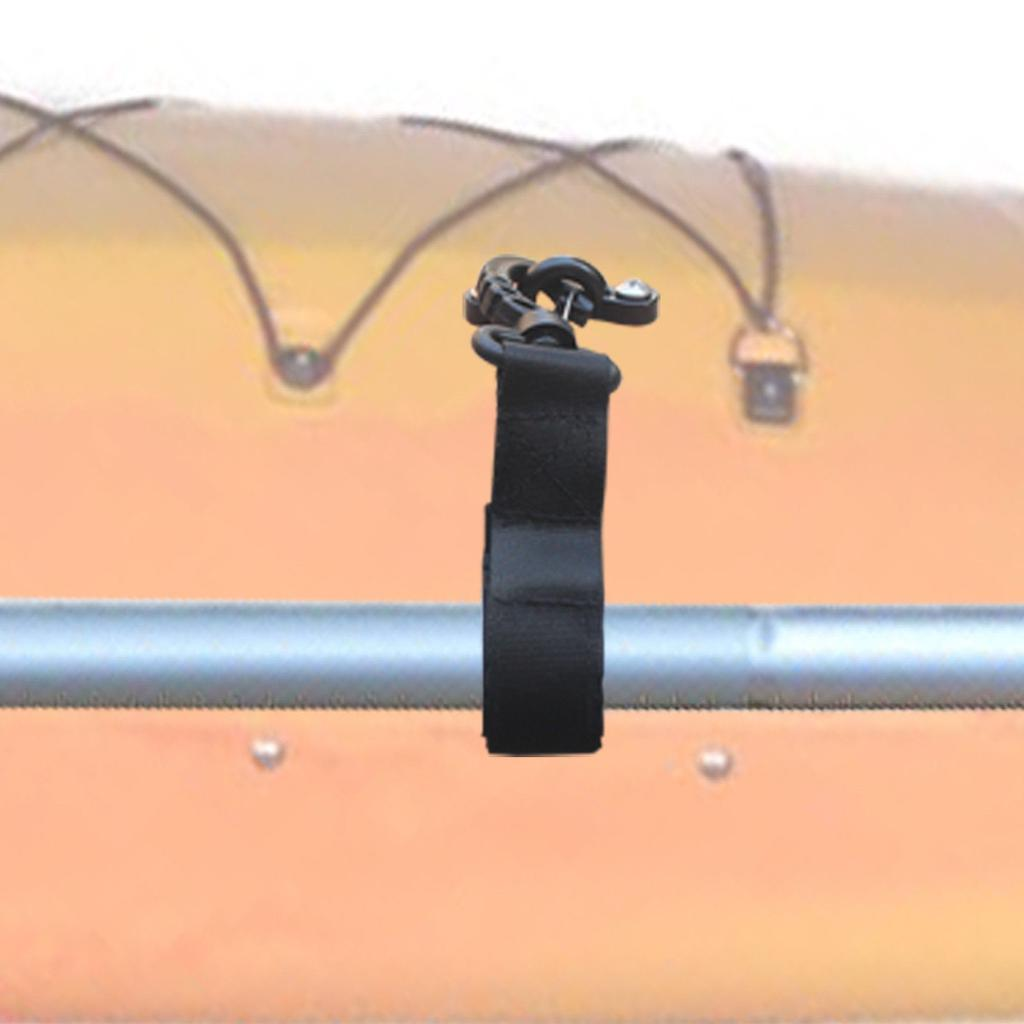 2 Pieces//Set Nylon Marine Boat Kayak Paddle Oar Rod Tube Holder Clips Keeper