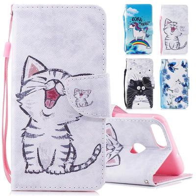 Cute Leather Flip Stand Strap Card Slots Wallet Case Cover for iPhone 11 12 Pro Max Samsung A01 A21s A31 A51 A71 S20 Huawei Xiaomi