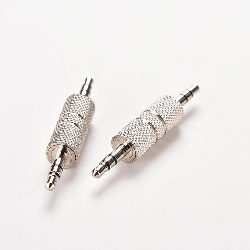 Double Track Male To Male Audio Lead Cable Wire 3.5mm Stereo Jack Headphone 1PC