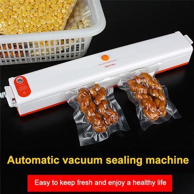 Household Fully Automatic Food Packaging Plastic Vacuum Packaging Machine