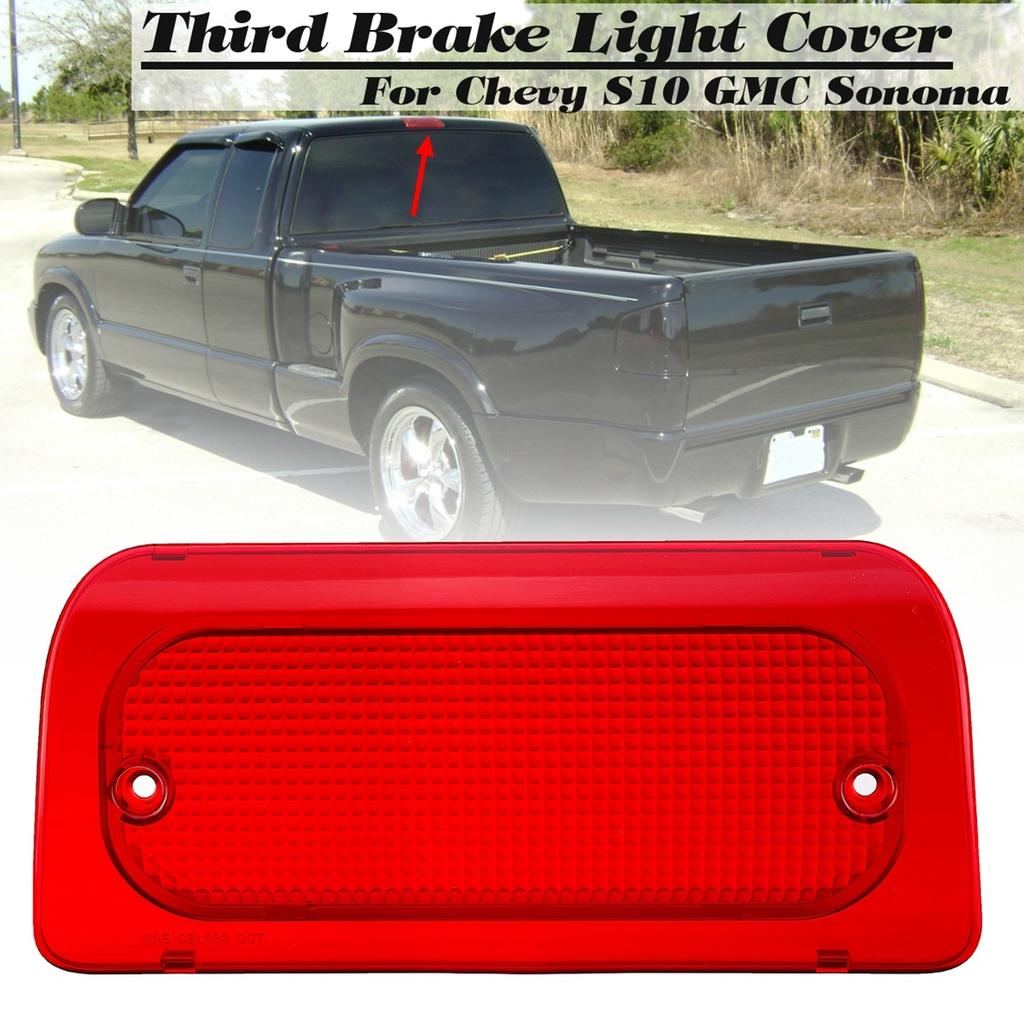 Car Rear Third Tail Light Cover For Chevy S10 Gmc Sonoma 1994 2004 Buy At A Low Prices On Joom E Commerce Platform