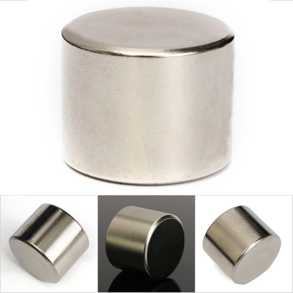 1 PCS Редкоземельный магнит 25x20mm Круглый цилиндр NdfeB Магнитный материал N52 фото