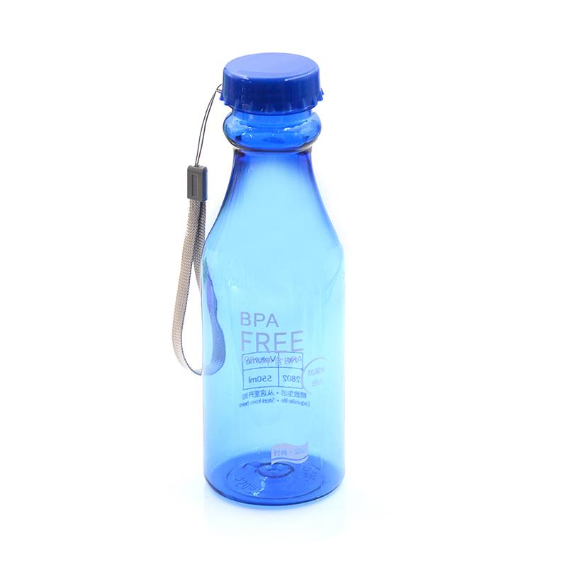 500ml bpa free portable water bottle leakproof plastic kettle for travel FEH