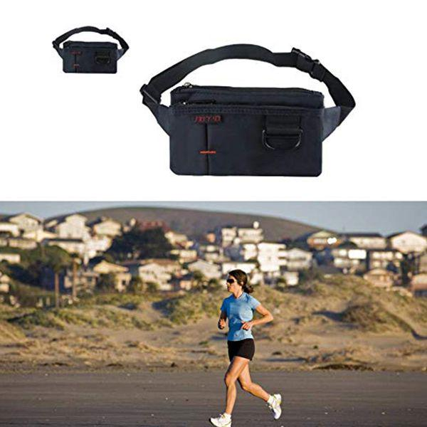Snake Head Black Sport Waist Pack Fanny Pack Adjustable For Travel