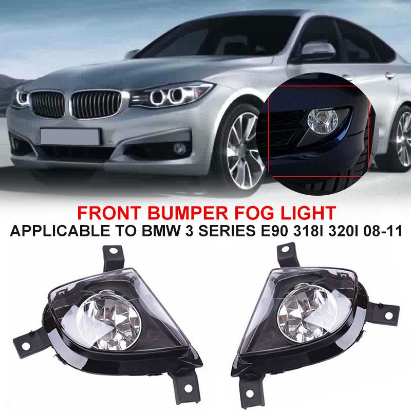2x Ultra Blue Projector H11 13 SMD LED Fog Light bulb For BMW E90 325 328 335i