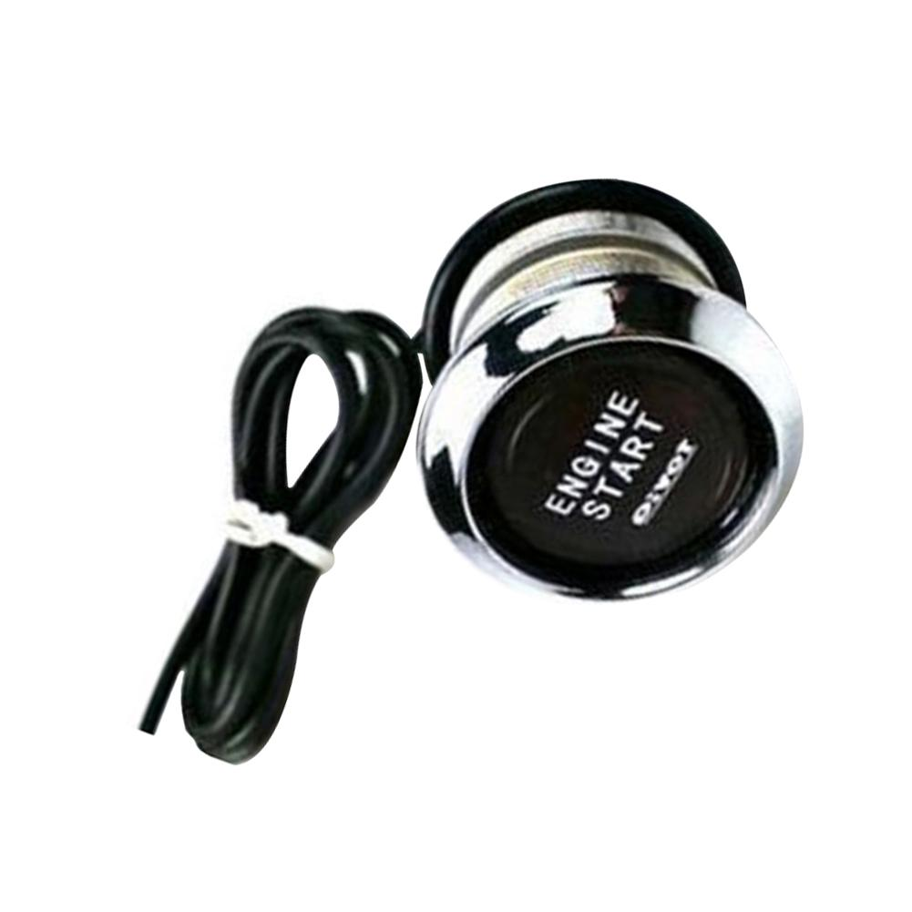 Momentary 19mm 12v Green LED Power symbol/&angle eye Metal Push button Switch