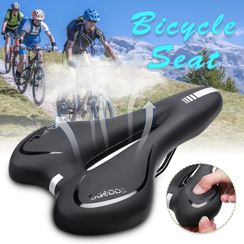 SGODDE Bike Cycle Bicycle Extra Comfort Gel Pad Cushion Cover Saddle Seat