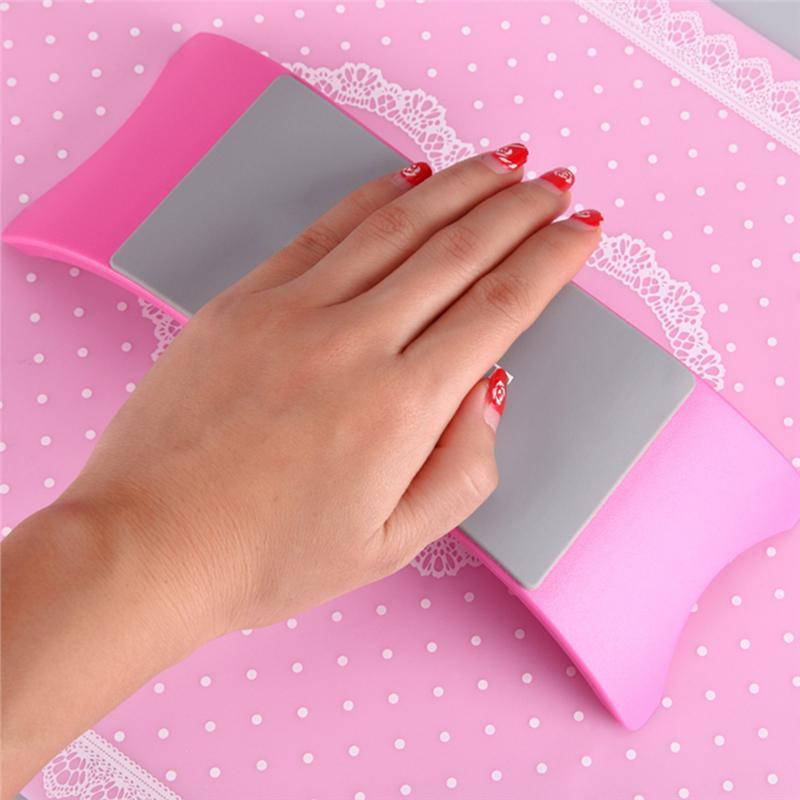 Stil; In Weiche Pu Nail Art Abnehmbare Hand Kissen Faltbare Kissen Für Arm Rest Maniküre Werkzeug Nagel Zubehör Modischer