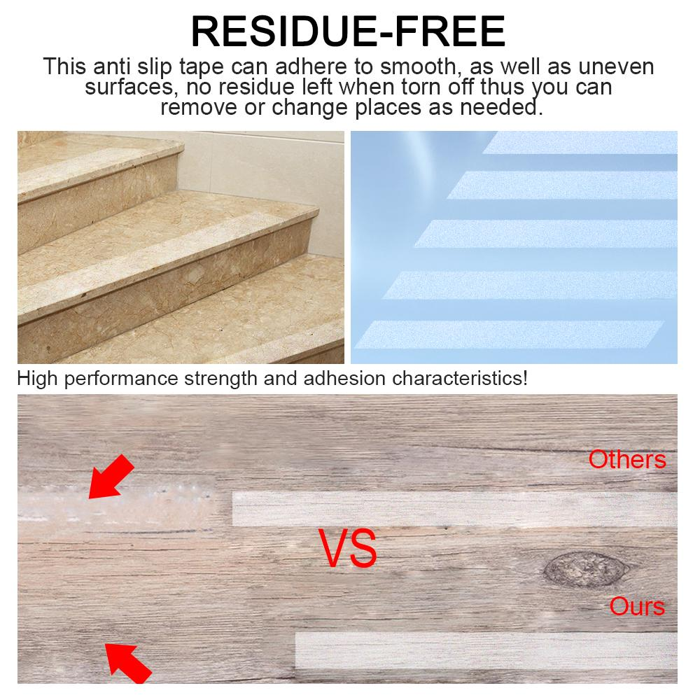 10cm*20m Non Slip Stair Tread Anti Slip Clear Tape Adhesive Stair Flooring New