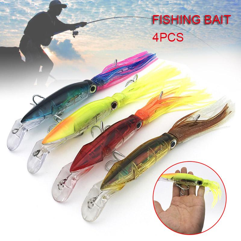 New Fish Lures Bait Hooks Tackle Minnow Bass Trout Popper Variety 7x Colorful