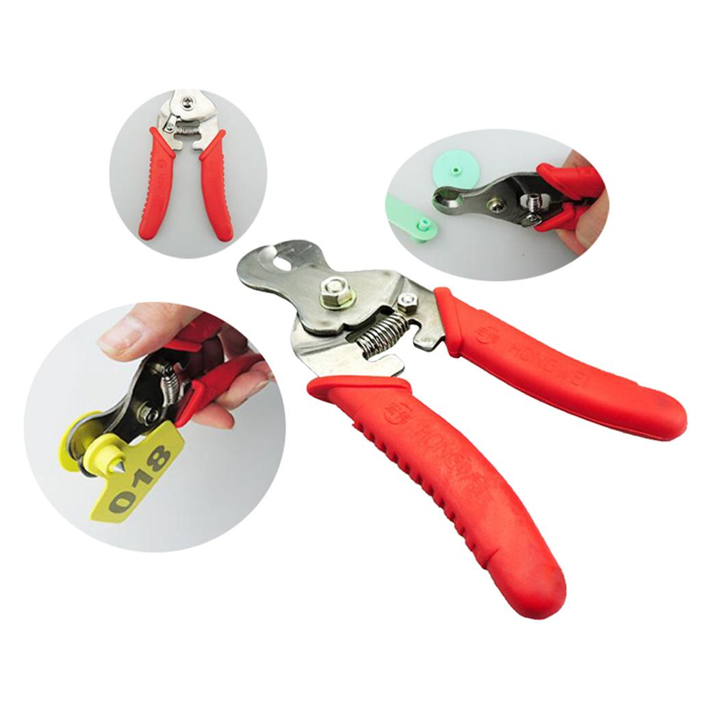 Cutter Livestock Cattle Cow Pig Goat Sheep Ear Tag Cutting Pliers Remover