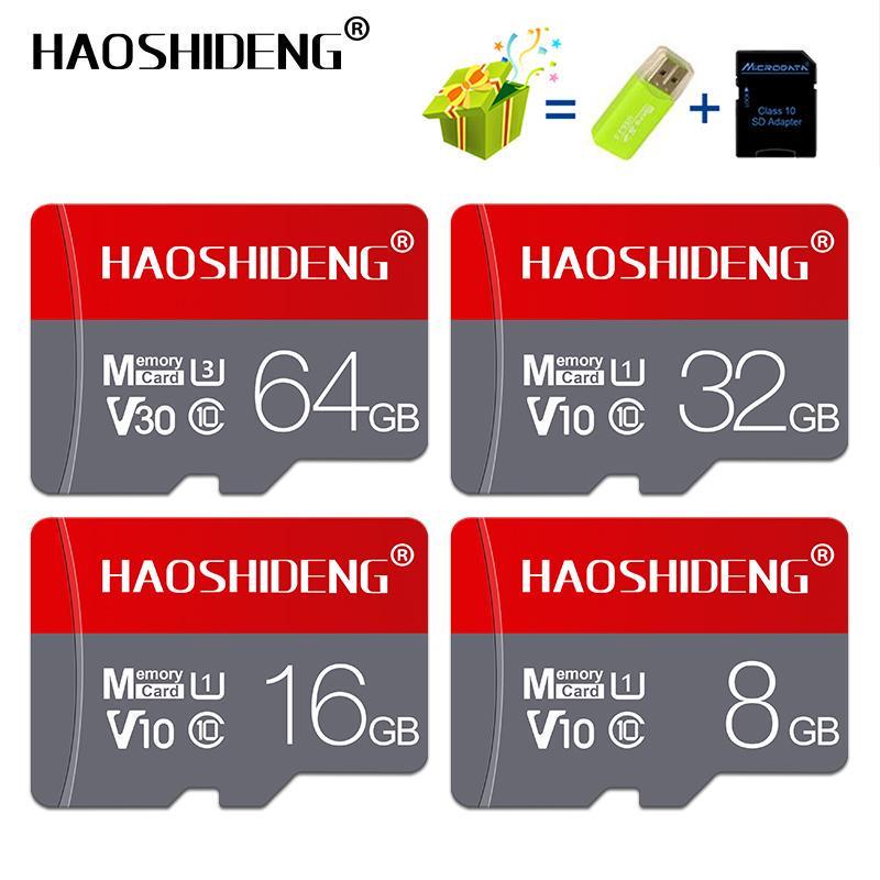 Micro SD карты памяти карты MicroSD C10 TF карты для телефонной камеры – купить по низким ценам в интернет-магазине Joom