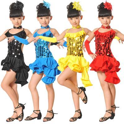632dae01ded9 Fashion Cute Floral Toddler Kids Girls Latin Ballet Dress Party ...