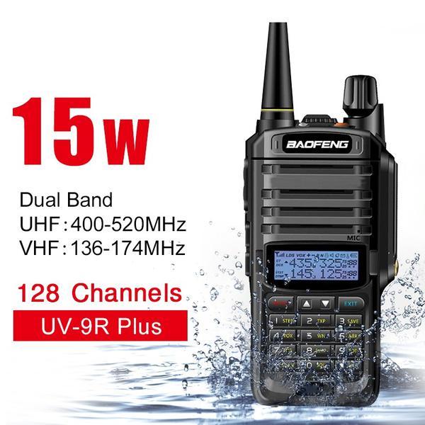 6X BAOFENG UV-5R Two Way Ham Radio Dual Band 136-174//400-520Mhz Walkie Talkie BE