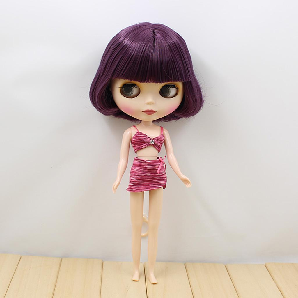 Knitted stripes swimsuit for Blythe  Azone dolls