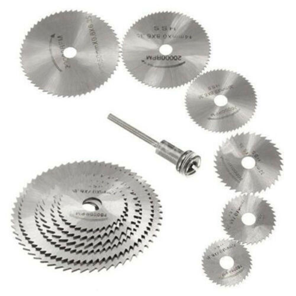 10PCS Diamond Cutting Wheels For Dremel Rotary Tool Cut Off Disc Saw Blades Set