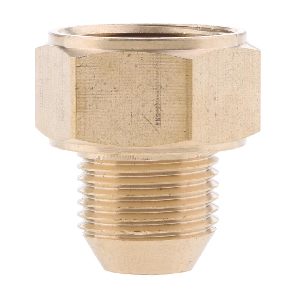 Swivels Brass Hose Coupling Thread 22mm M 22mm F Adapter For Pressure Washer