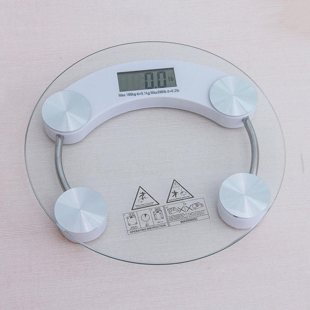 180KG Digital Body Weighing Scale Electronic Bathroom Glass Weight Scales NEW