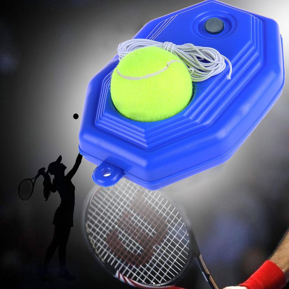 Tennis Training Tools Selfstudy Practice Rebound Ball Baseboard Exercise Trainer