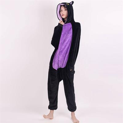 Halloween Pikachu Costume Unisex Kigurumi Pajamas One Piece Animal Sleepwear